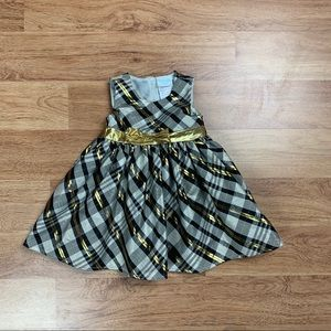 Nannette Baby Girl Special Occasion Plaid Dress